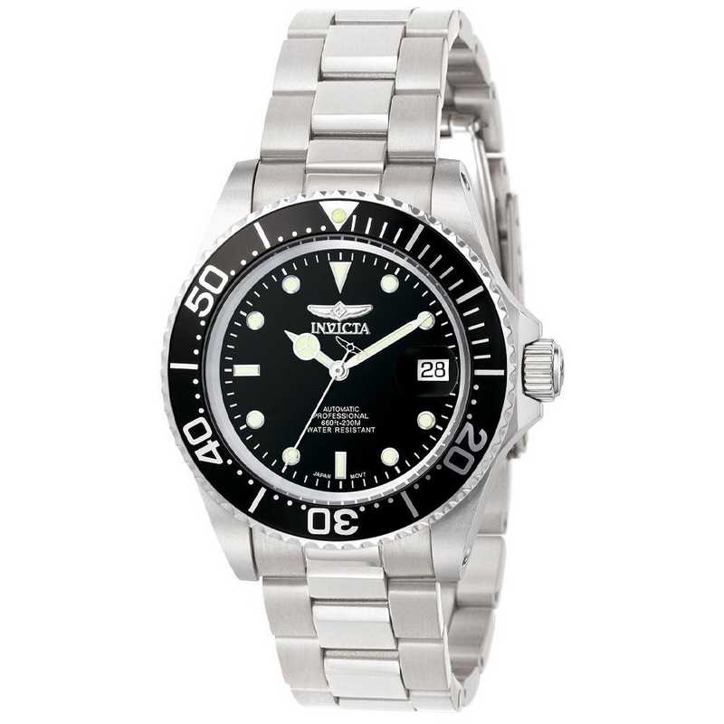 INV-8926OB: Invicta Men's Pro Diver Automatic 3 Hand Black Dial Watch