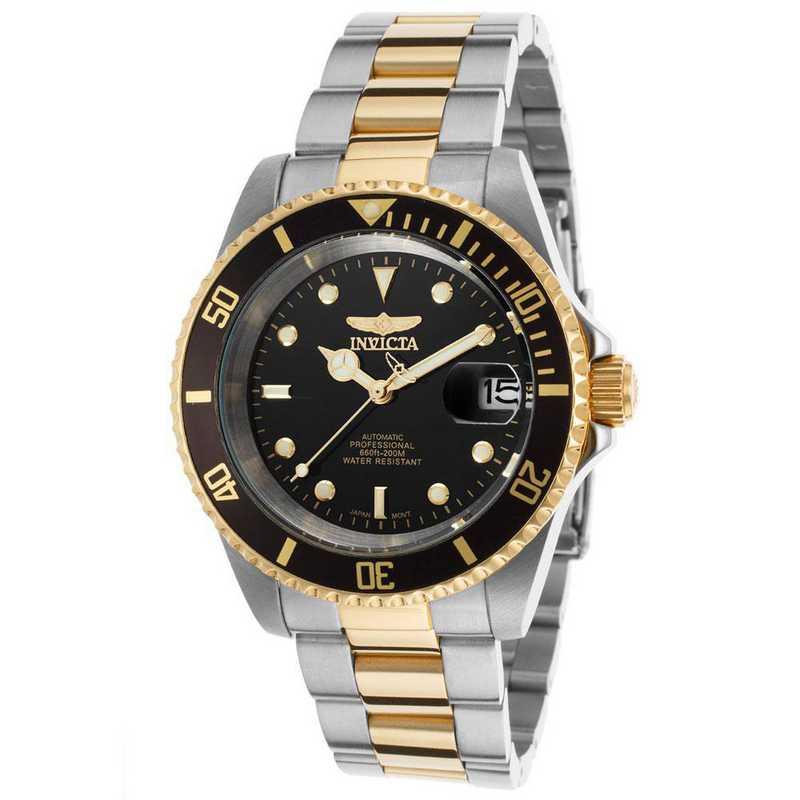 INV-8927OB: Invicta Men's Pro Diver Automatic 3 Hand Black Dial Watch