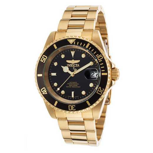 INV-8929OB: Invicta Men's Pro Diver Automatic 3 Hand Black Dial Watch