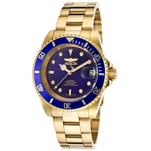 INV-8930OB: Invicta Men's Pro Diver Automatic 3 Hand Blue Dial Watch
