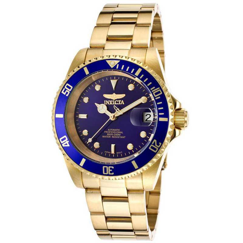 INV-8930OB: Invicta Men's Pro Diver Automatic 3 Hand Blue Dial Watch