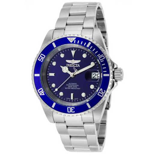INV-9094OB: Invicta Men's Pro Diver Automatic 3 Hand Blue Dial Watch