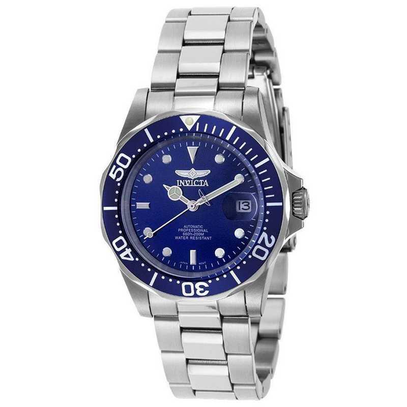 INV-9094: Invicta Men's Pro Diver Automatic 3 Hand Blue Dial Watch