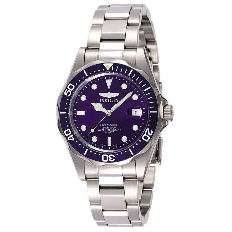 INV-9204: Invicta Men's Pro Diver Quartz 3 Hand Blue Dial Watch