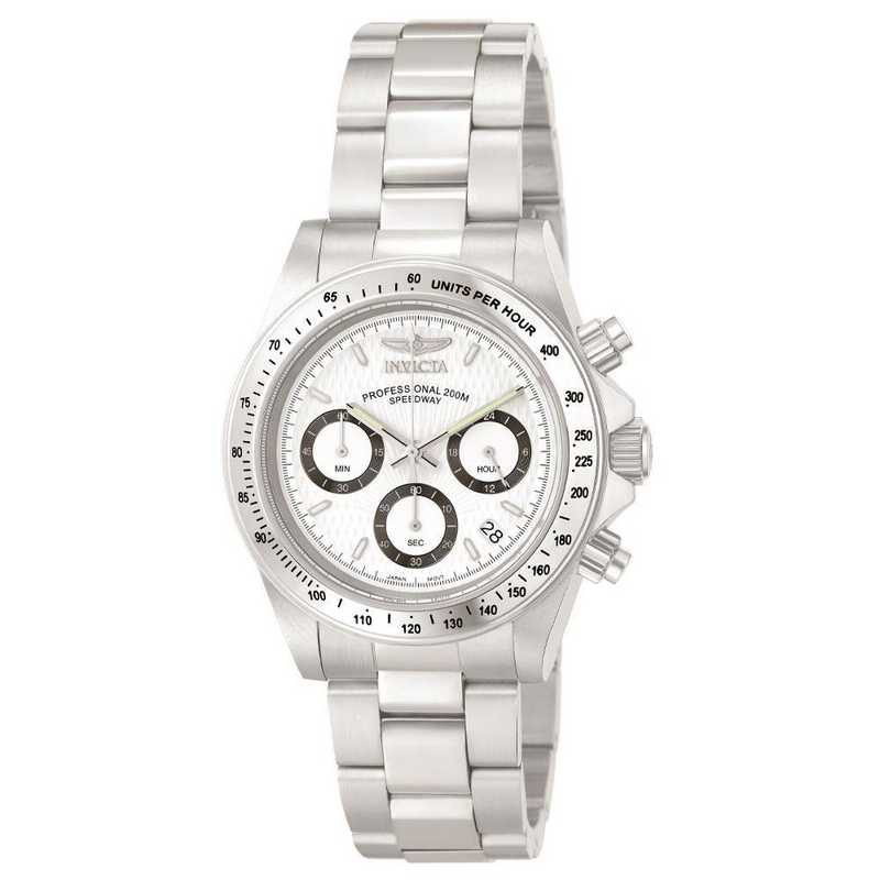 INV-9211: Invicta Men's Speedway Quartz Chronograph White Dial Watch