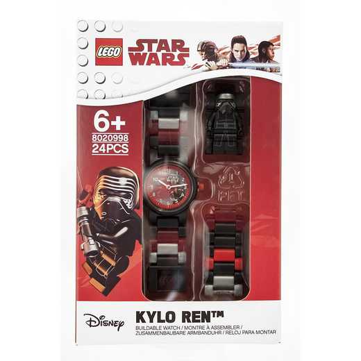 LEGO-8020998: Star Wars Kylo Ren Minifigure Link Watch