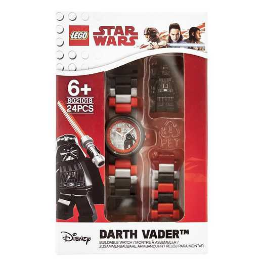LEGO-8021018: Star Wars Darth Vader Minifigure Link Watch