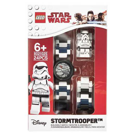 LEGO-8021025: Star Wars Stormtrooper Minifigure Link Watch