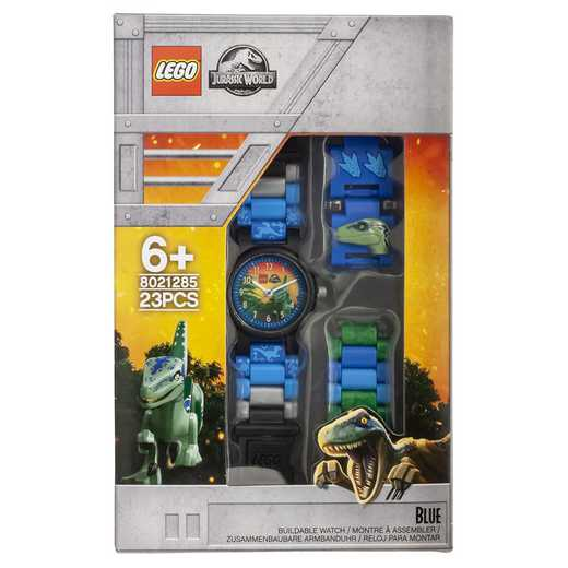 LEGO-8021285: Jurassic World Blue Minifigure Kid's Watch