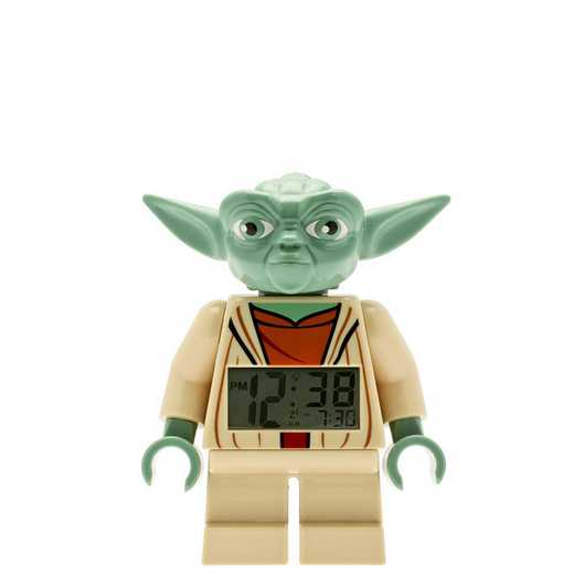LEGO-9003080: Star Wars Yoda Minifigure Alarm Clock
