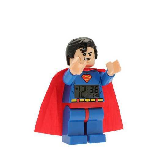 LEGO-9005701: DC Universe Super Heroes Superman Minifigure Clock
