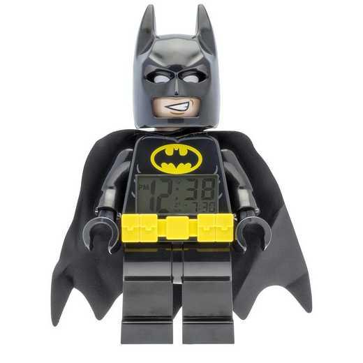 LEGO-9009327: Batman Movie Batman Minifigure Clock