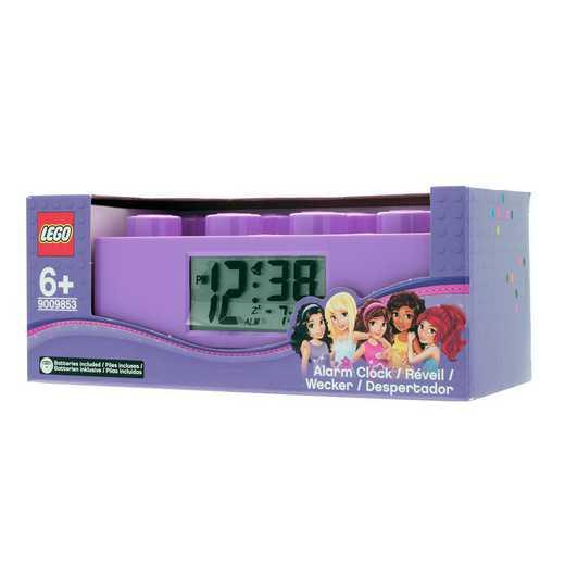 LEGO-9009853: Purple Brick Alarm Clock