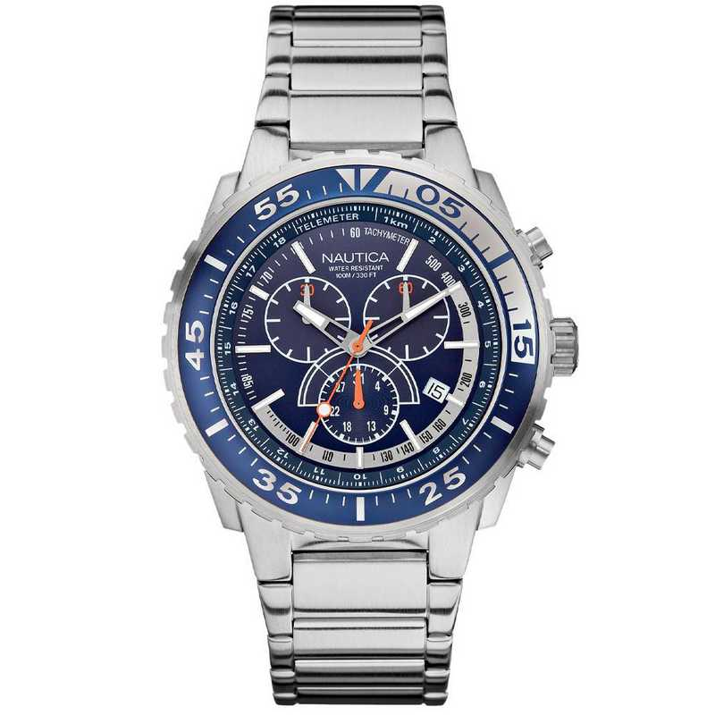 N16655G: Nautica Watches Men's NST 700 Chrono Fashion Active Watch