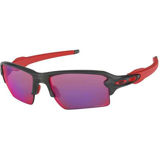 OO9188-04: Oakley Flak 2.0 XL Sunglasses - Matte Gray Smoke/Prizm Road
