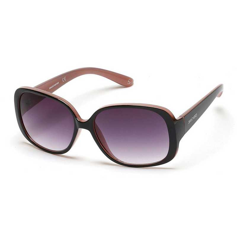 SE6014-01B: Skechers Women's Polarized Sunglasses - BLK