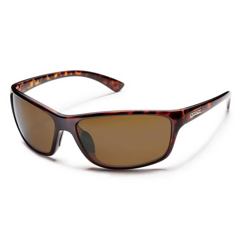 S-SEPPBRTT: Smith Suncloud Sentry Polarized Sunglasses -  Tortoise/BRN