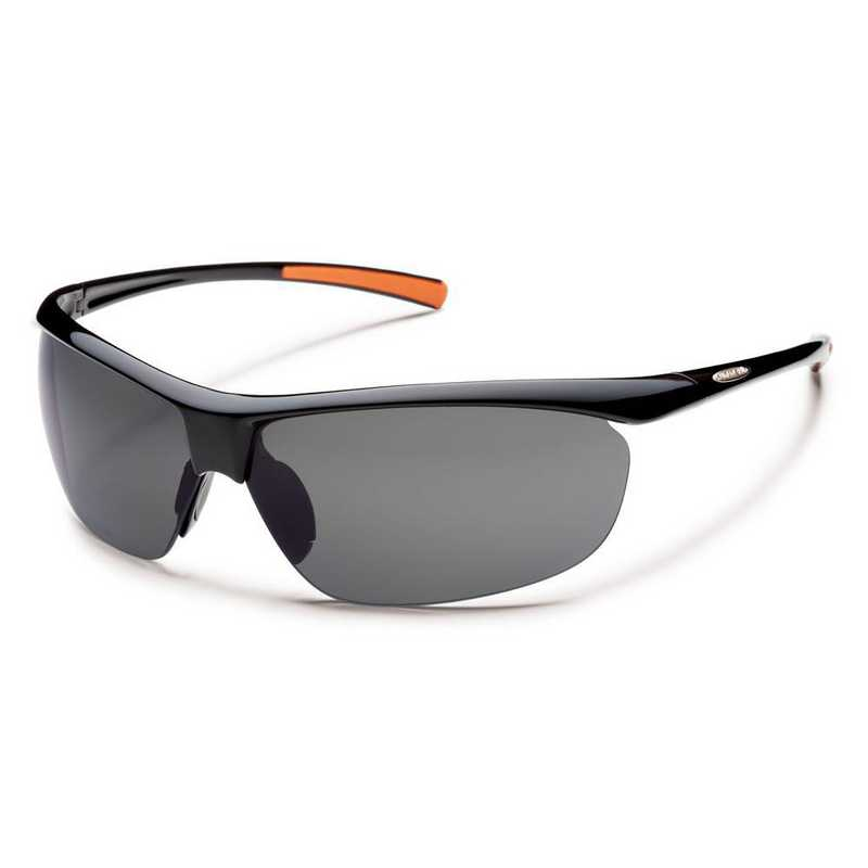 S-ZEPPGYBK: Smith Suncloud Zephyr Polarized Sunglasses -  BLK/Gray