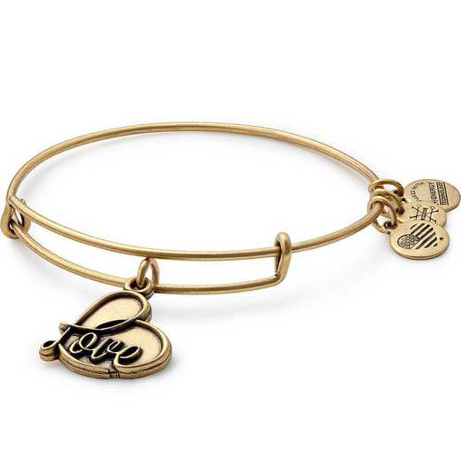 A17EB05RG: Love Charm Bangle - Rafaelian Gold Finish