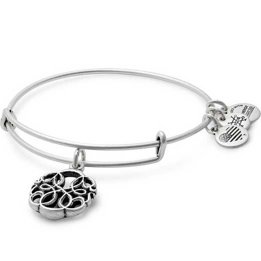 A17EB29RS: Path of Life Charm Bangle - Rafaelian Silver Finish