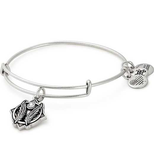 A17EBGSRS: Godspeed Charm Bangle - Rafaelian Silver Finish