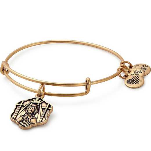 A17EBJOARG: Joan of Arc Bangle - Rafaelian Gold Finish