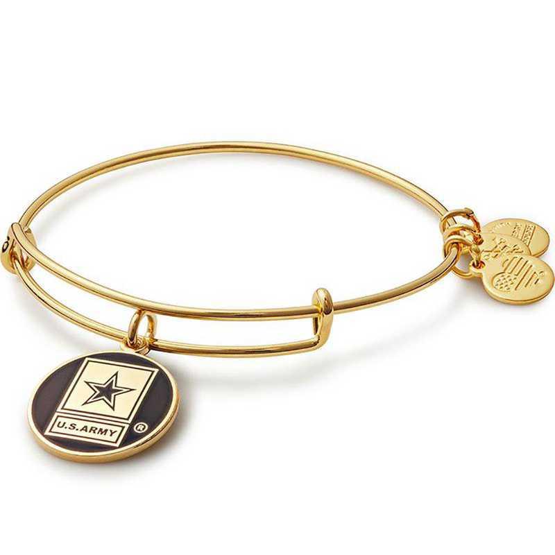 AS16ARMYYG: U.S. Army - Shiny Gold Finish