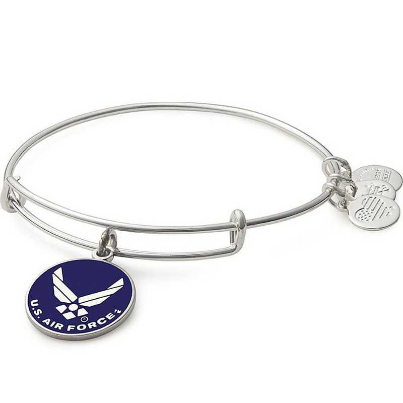 AS16USAFSS: U.S. Air Force Bangle - Shiny Silver Finish