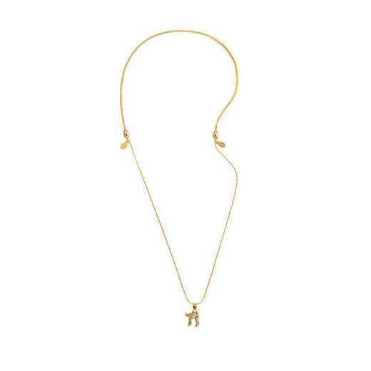 A18CHAI02RG: Chai Expandable Necklace - Rafaelian Gold Finish
