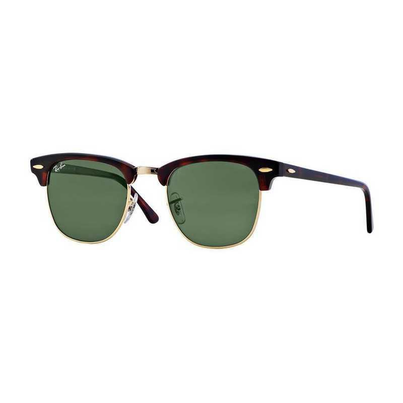 0RB3016W036649: Clubmaster Sunglasses - Dark Tortoise