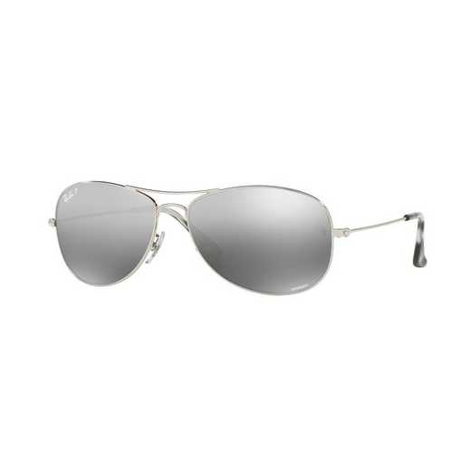 0RB35620035J5914: Polarized RB3562 Chromance Sunglasses - Silver
