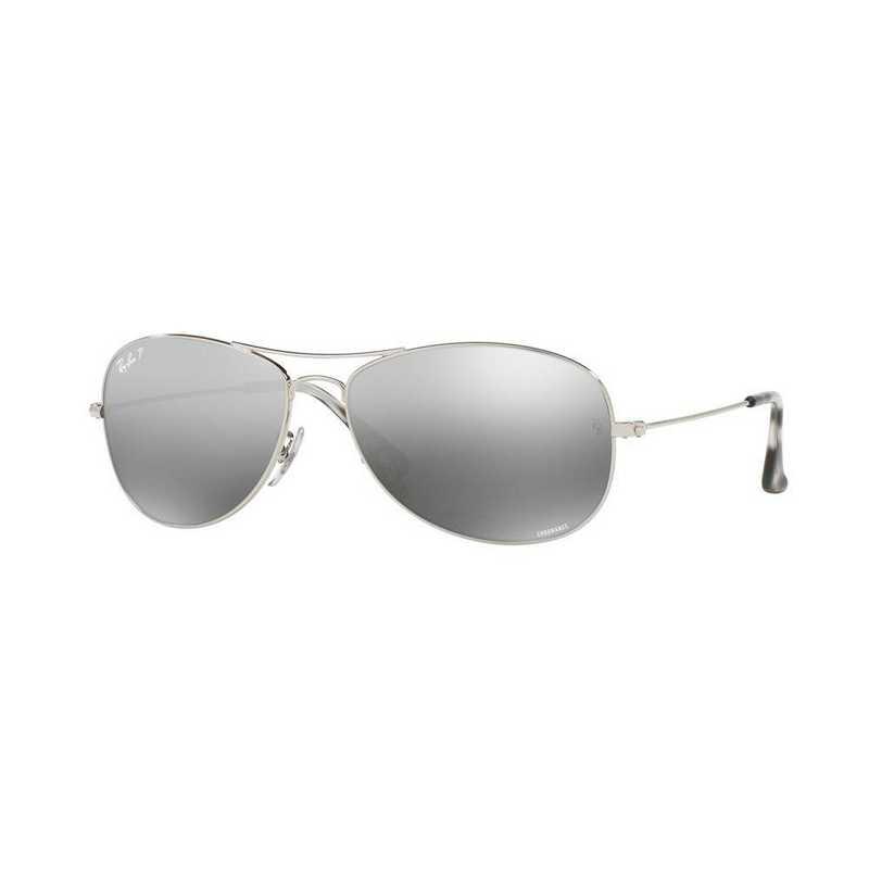 0RB35620035J5914: Polarized RB3562 Chromance Sunglasses - Silver