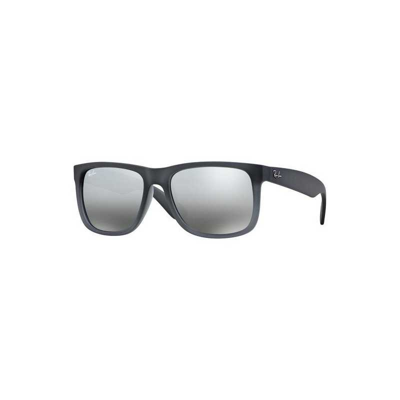 0RB41658528855: Justin Sunglasses - Grey/Silver Mirror