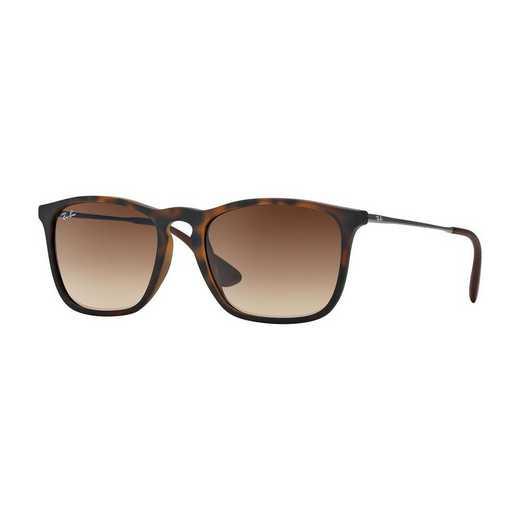 0RB418785613: Chris Sunglasses - Havana/Brown Gradient