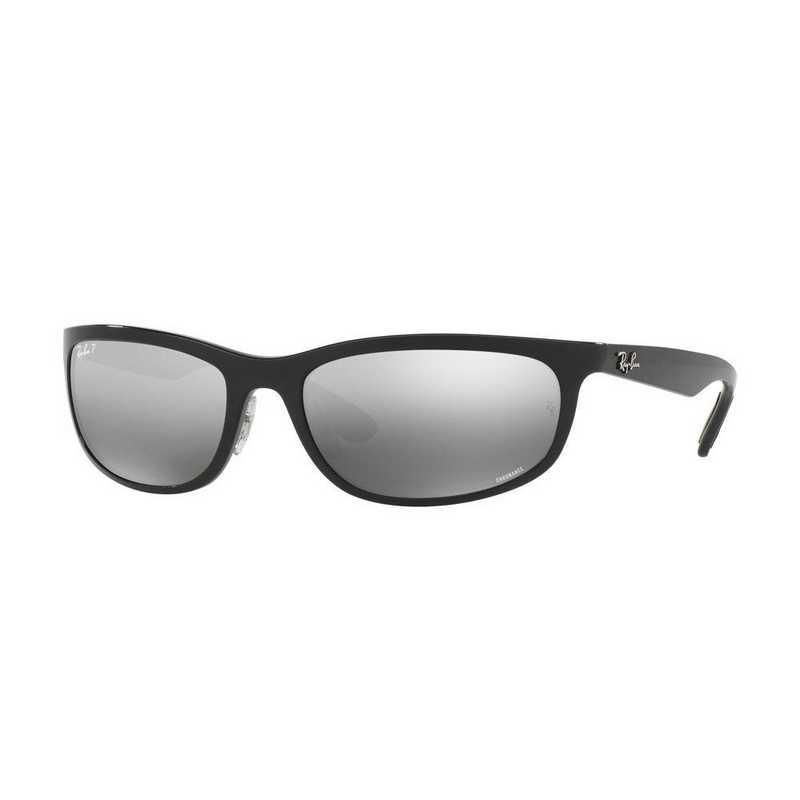 0RB42656015J6219: Polarized RB4265 Chromance Sunglasses - Black
