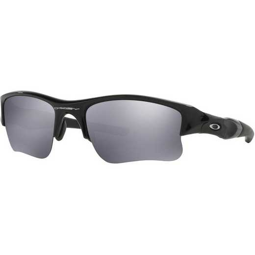 OO9009-03: Flak Jacket XLJ Sunglasses - Jet Black/Black Iridium