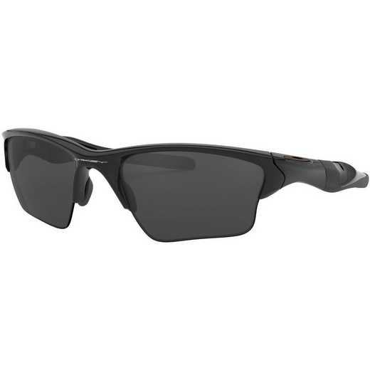 OO9154-01: Half Jacket 2.0 XL Sunglasses - Polished Black/Black Iridium