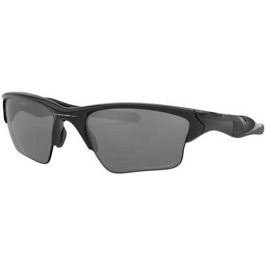 OO9154-05: Half Jacket 2.0 XL Sunglasses-Plshd Blk/Blk Irdm Plrzd