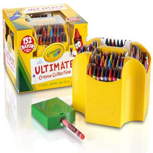 CR-52-0030: Crayola Ultimate Crayon Case - 152 Count