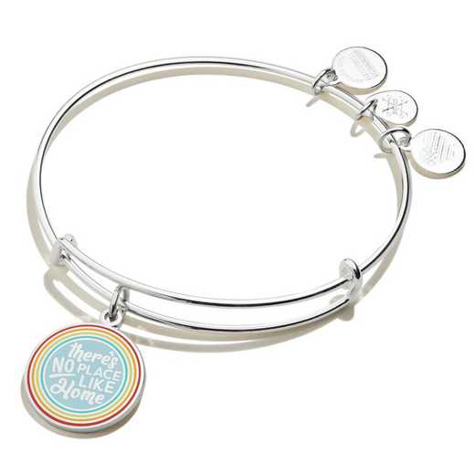 AS19EBWIZ01SS: Wizard of Oz There's No Place Like Home Rainbow Bangle