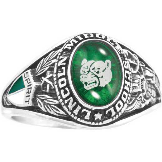 Girls' Junior High School Class Ring