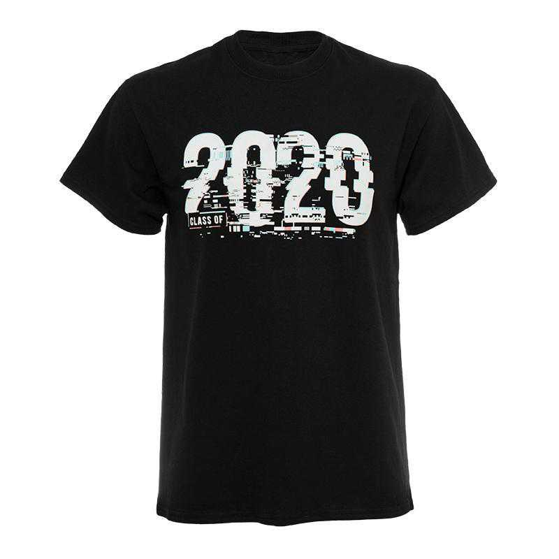 20 Glitch T-Shirt-Black