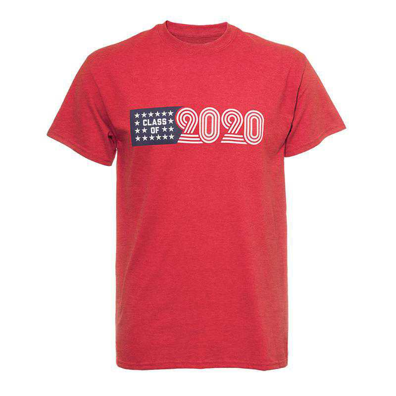 2020 American T-Shirt-Red