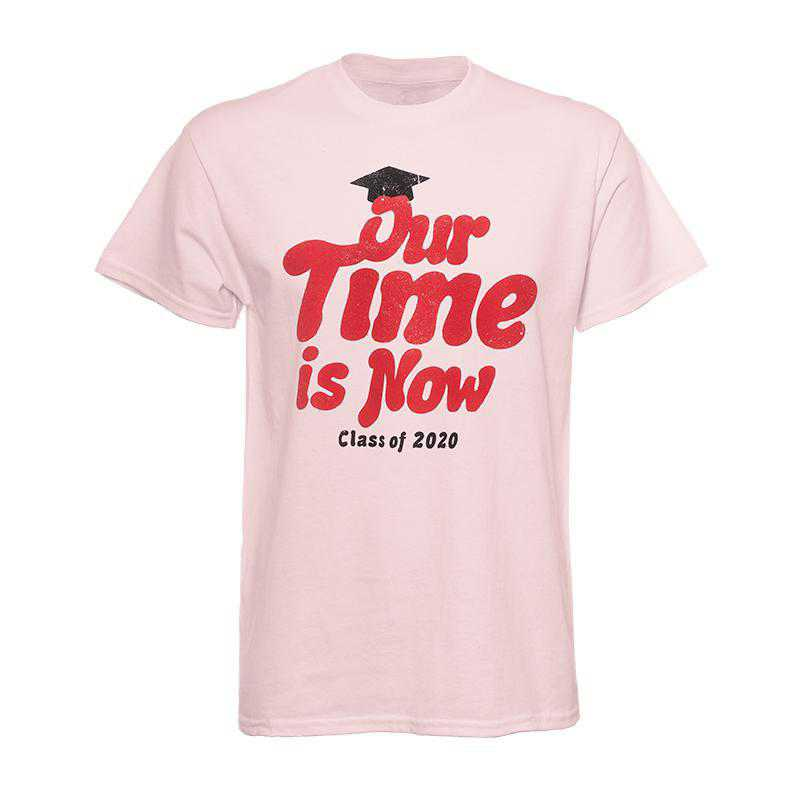 2020 Our Time Is Now T-Shirt-Pink