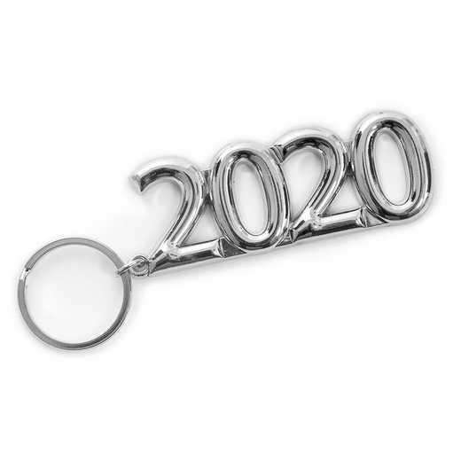 K022043: 2020 Silvertone Key Ring