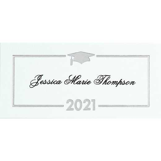 Premium Grad Announcement Name Cards