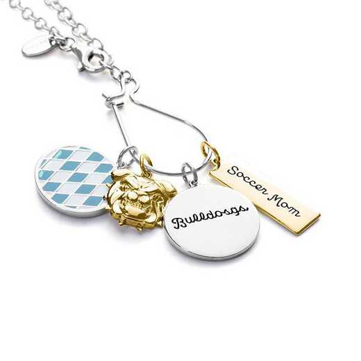 Personalized Sports Fan Charm Necklace