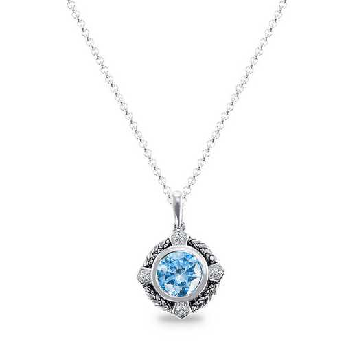 Prelude Augment Necklace with Zirconia from Swarovski®