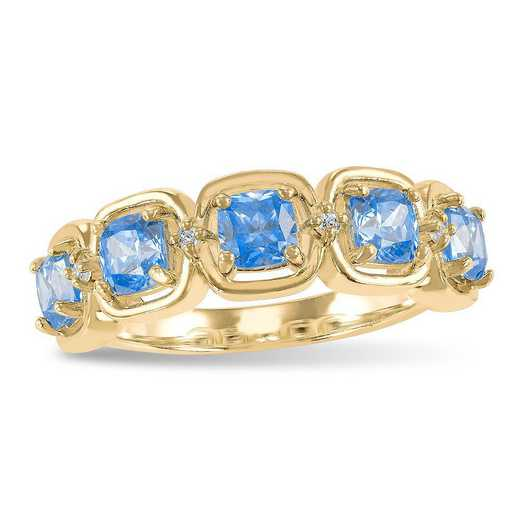 Prelude Dignify Stacking Ring with Zirconia from Swarovski®
