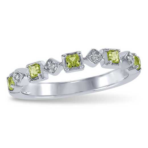 Touchstone Emma Stacking Birthstone Ring